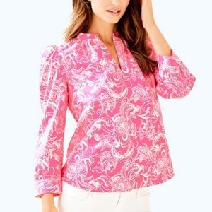 Lilly Pulitzer x goop Paltrow blouse